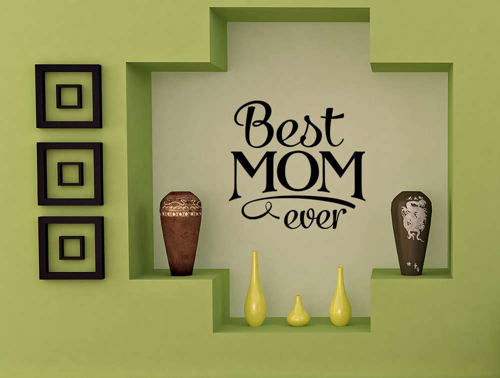 WD-0179-MomQuote – Best Mom Ever A-4.1-Black