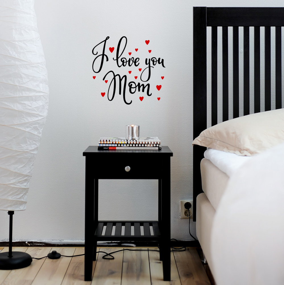 WD-0183-Mom Quote -I Love You Mom-1.1-Black and Redf